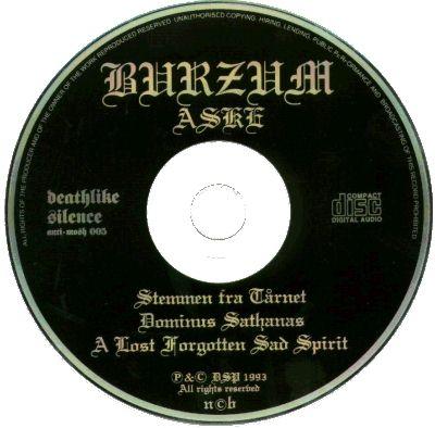 Burzum - Burzum 91 - Aske 92
